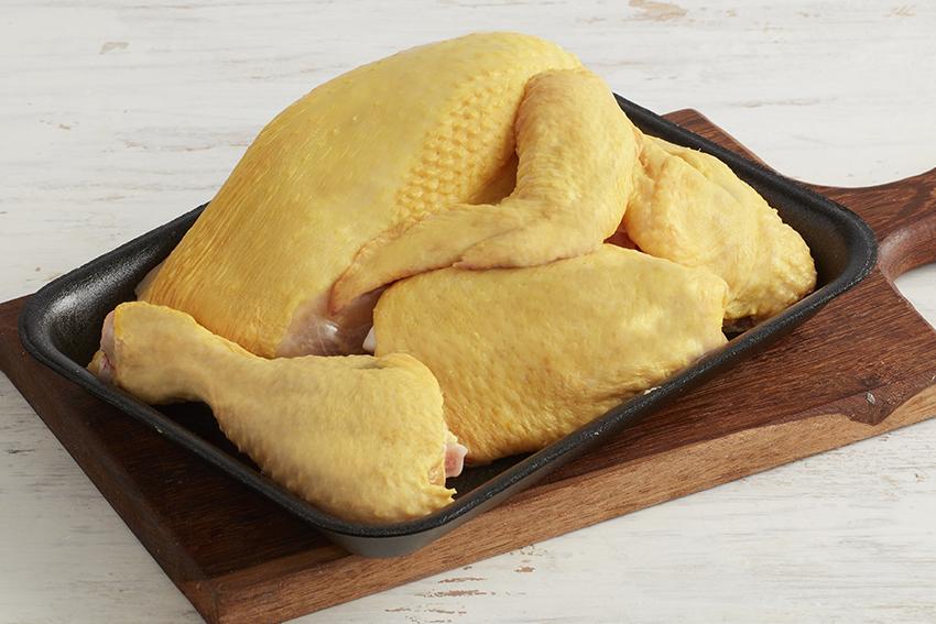 Bandejas de pollo campesino